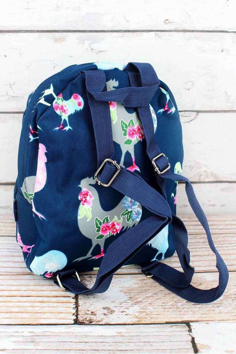 NGIL Rosy Roosters Small Backpack