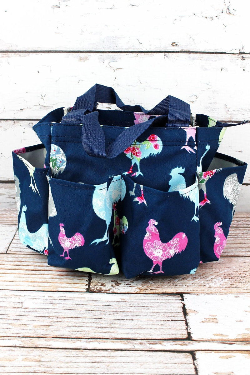 NGIL Rosy Roosters Organizer Tote