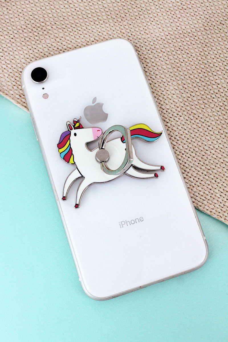 Unicorn Cell Phone Finger Grip & Stand