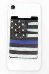 Thin Blue Line Flag Phone Pocket