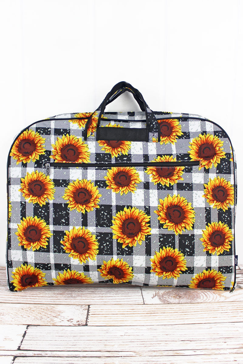NGIL Sunflower Plaid Garment Bag