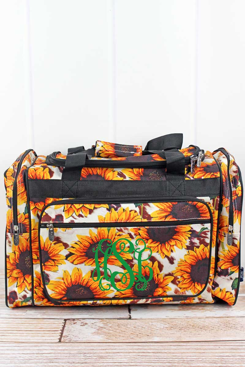 NGIL Sunflower Farm Duffle Bag 20""