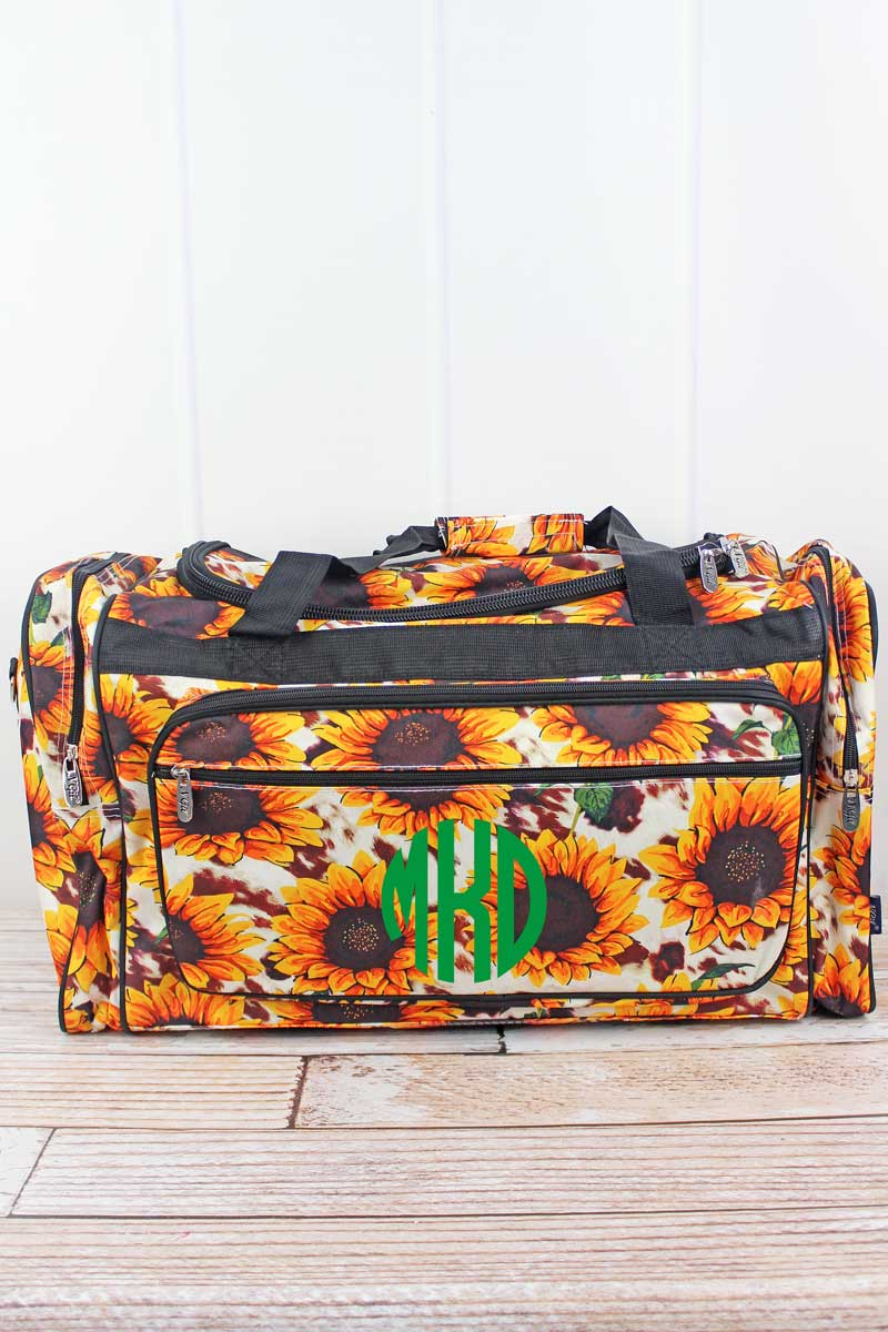 NGIL Sunflower Farm Duffle Bag 23""