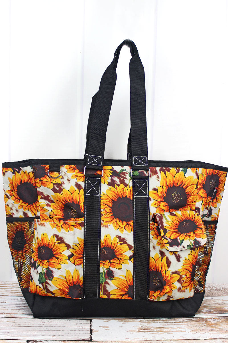 NGIL Sunflower Farm Everyday Organizer Tote