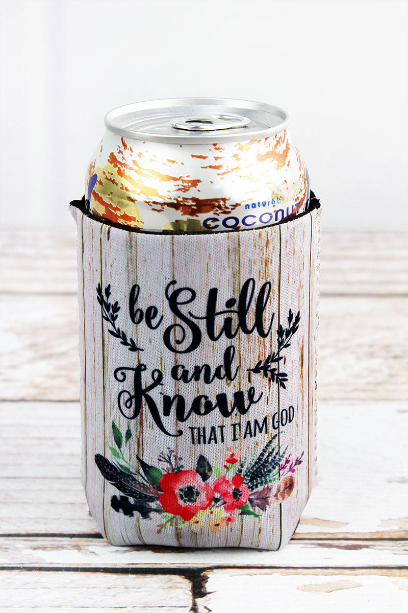 Be Still And Know Drink Sleeve