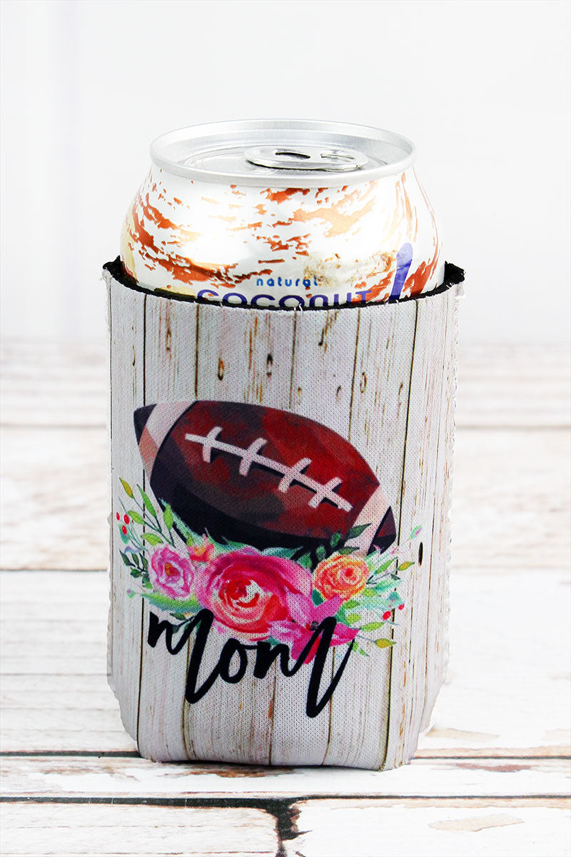 Football Mom Drink Sleeve