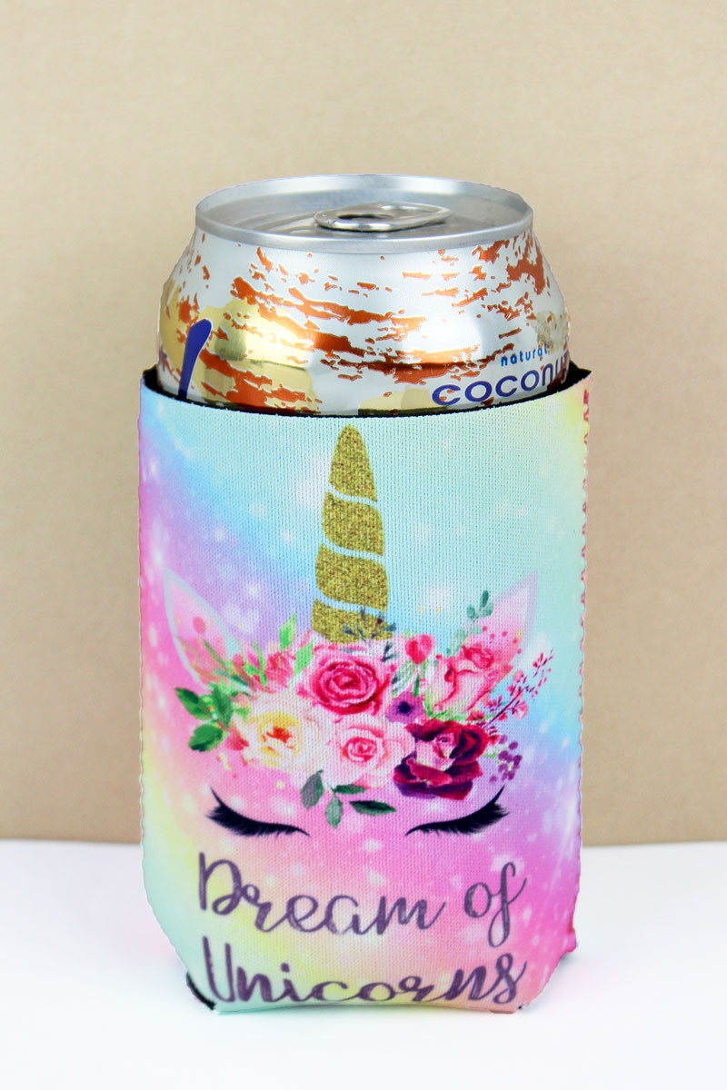 Dream Of Unicorns Drink Sleeve