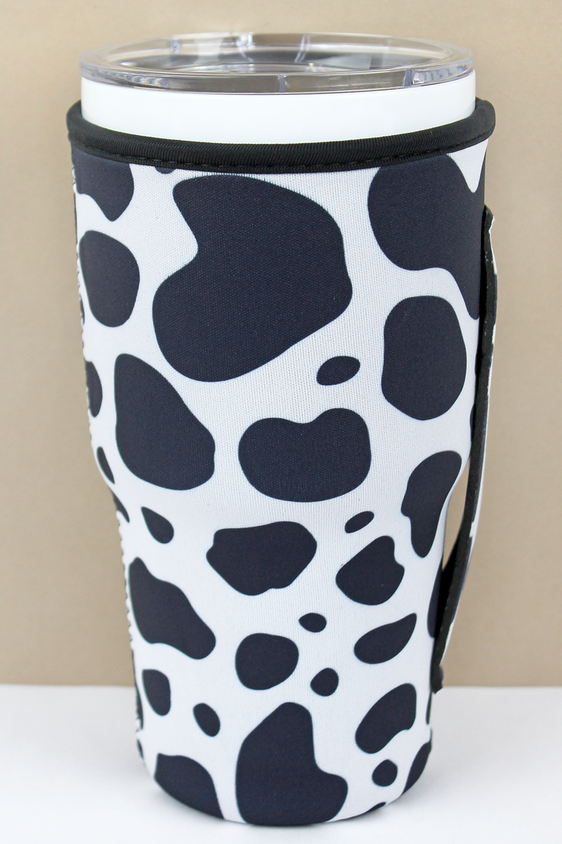 Cow Tumbler Drink Sleeve
