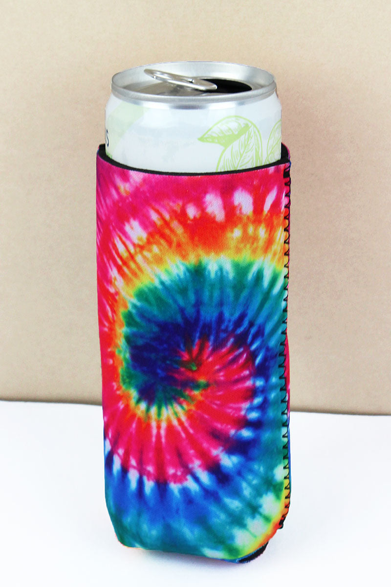 Tie-Dye Slim Can Drink Sleeve