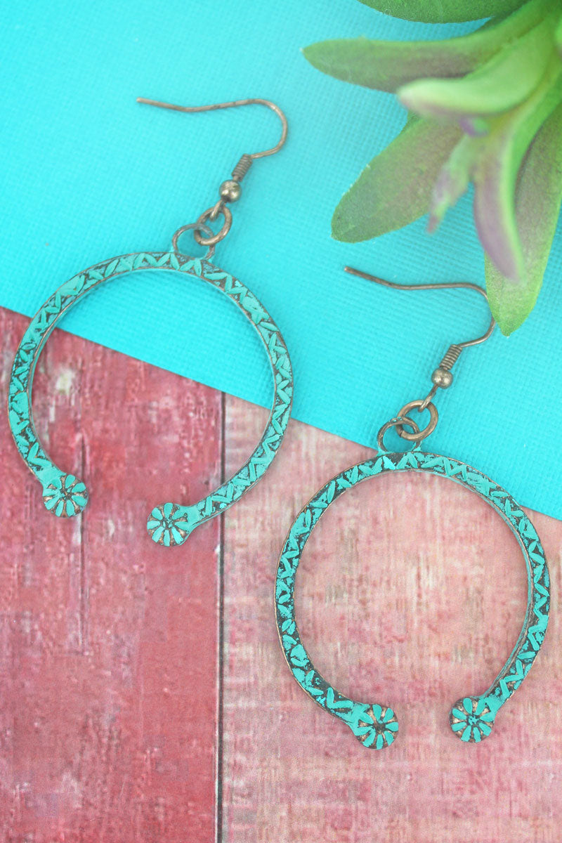 Patina Naja Earrings