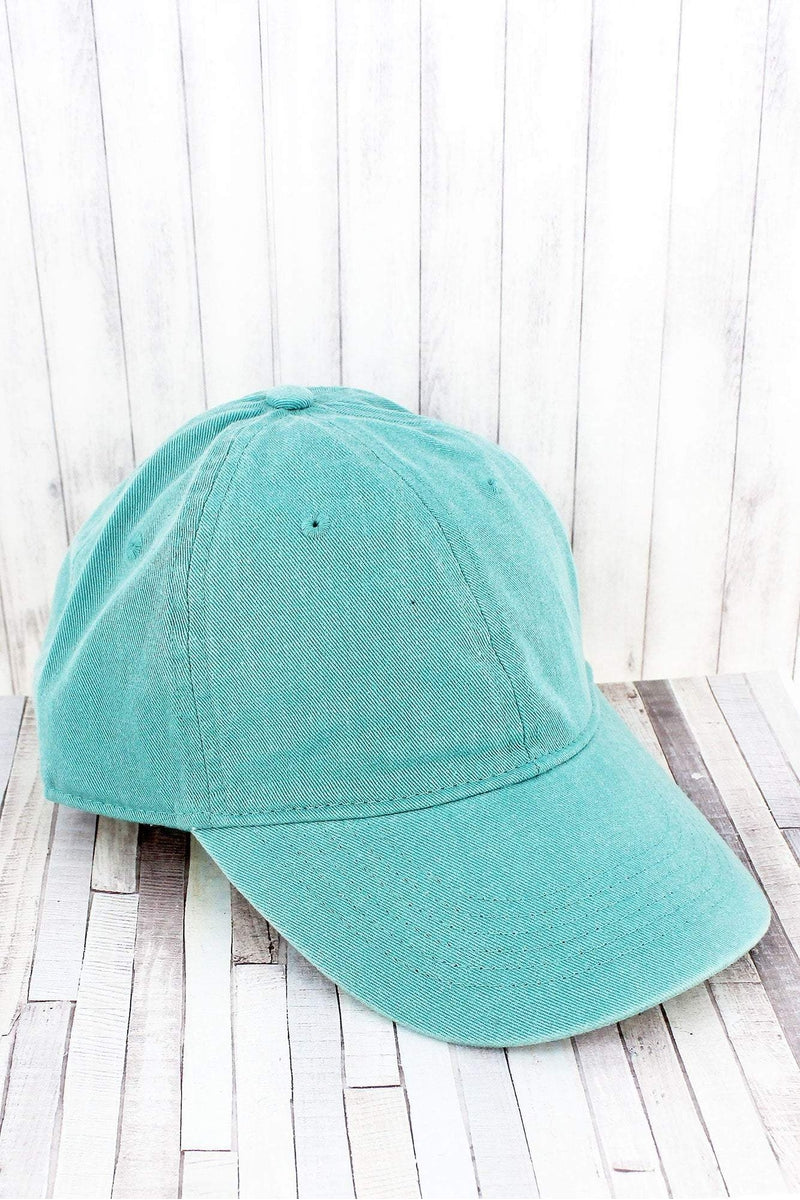 Seafoam Comfort Colors Pigment Dyed Canvas Baseball Cap