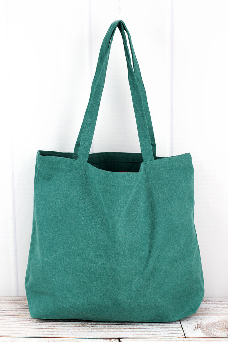 Liberty Bags Seafoam Green Large Canvas Tote