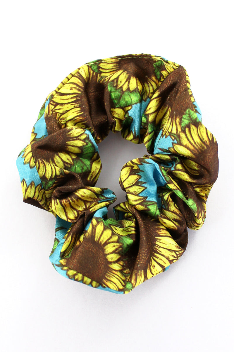 Sunflower Sky Scrunchie