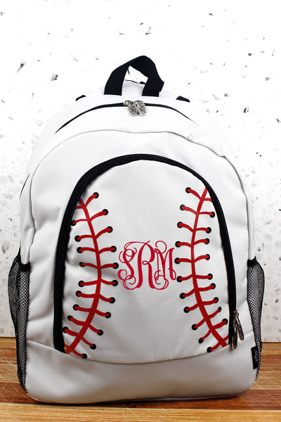 NGIL Baseball Laces Large Backpack