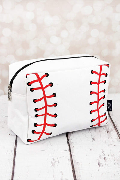 NGIL Baseball Laces Cosmetic Case