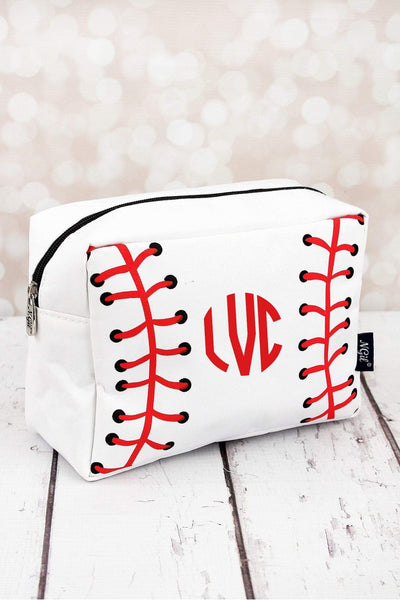 Baseball Laces Cosmetic Case