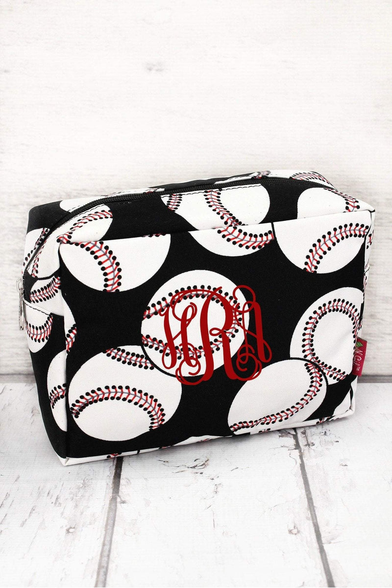 Baseball Cosmetic Case #SKQ613-BLACK