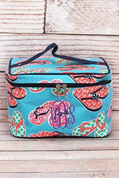 NGIL Flip Flop Fun Train Case