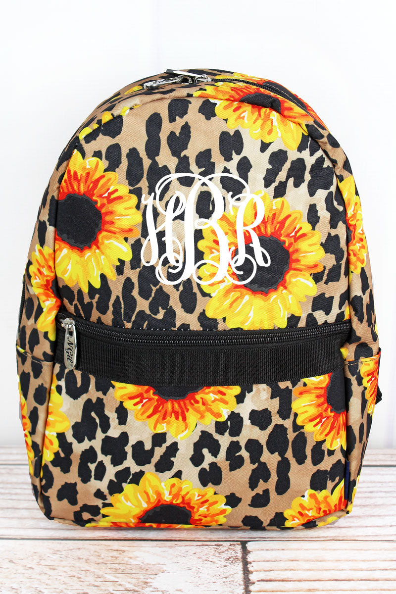 NGIL Sunflower Leopard Small Backpack