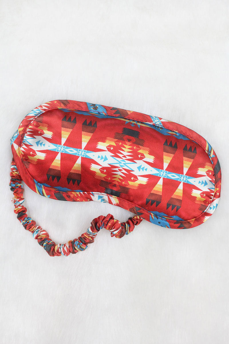 Red Mesa Satin Sleep Mask