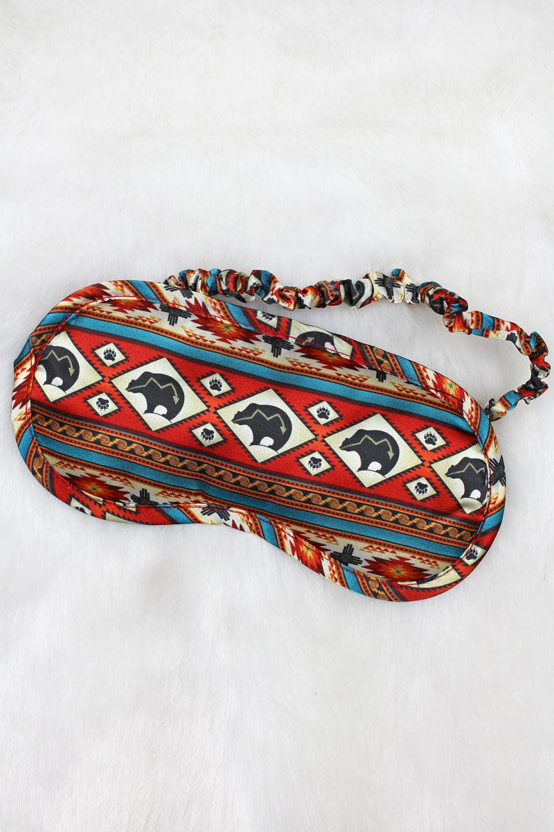 Bear Mountain Satin Sleep Mask