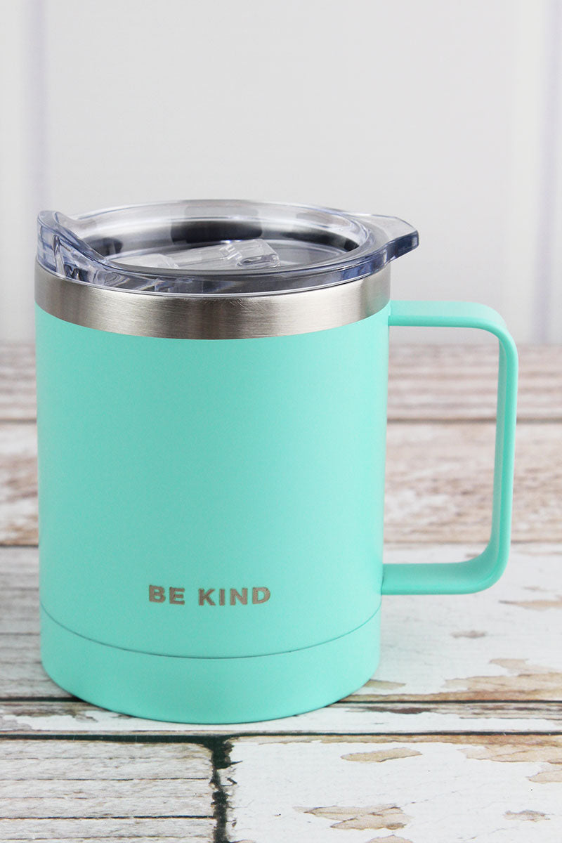 Be Kind Stainless Steel Travel Campfire Mug