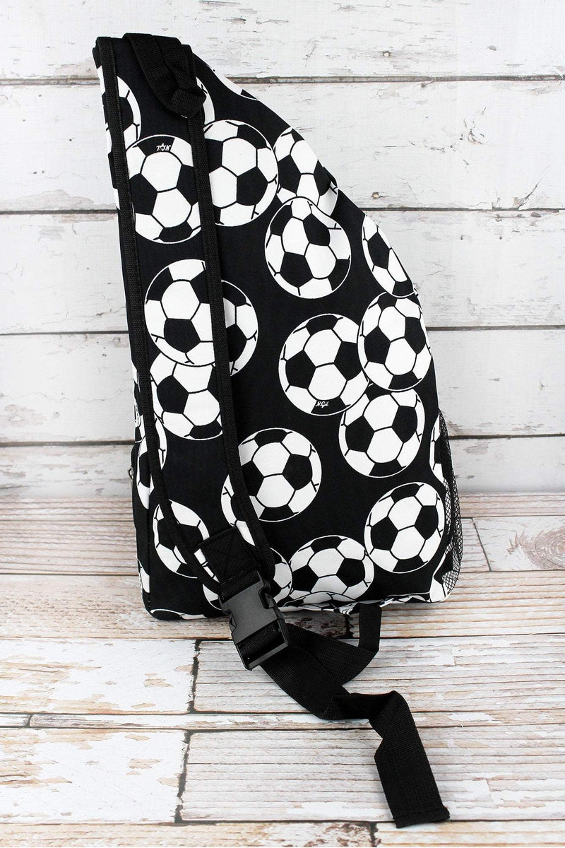 NGIL Soccer Sling Backpack