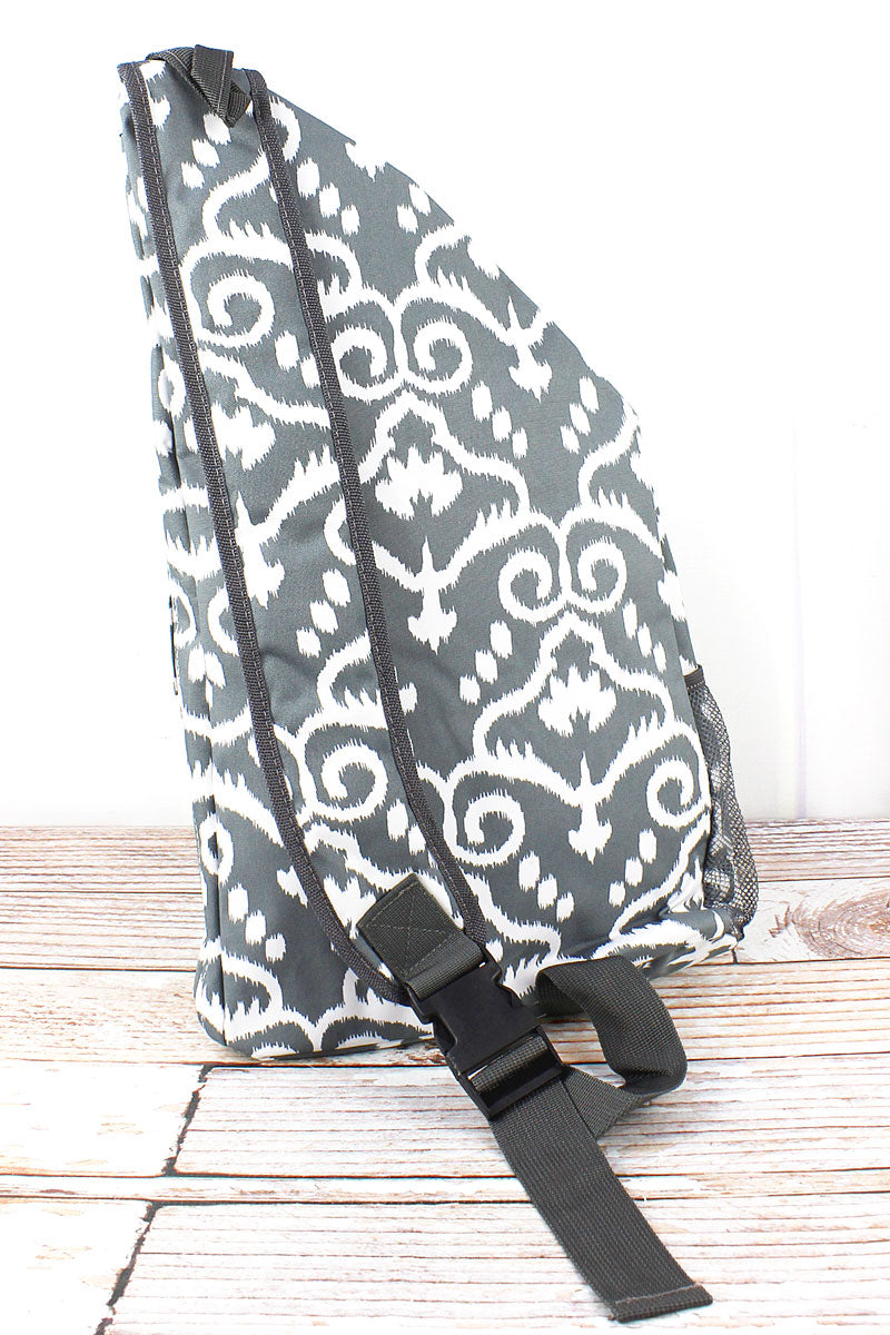 NGIL Dizzy Damask Sling Backpack
