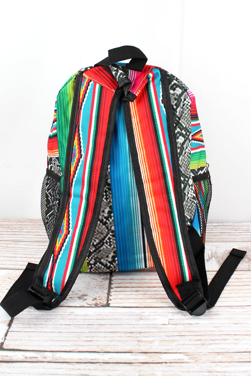 NGIL Slithering Serape Medium Backpack