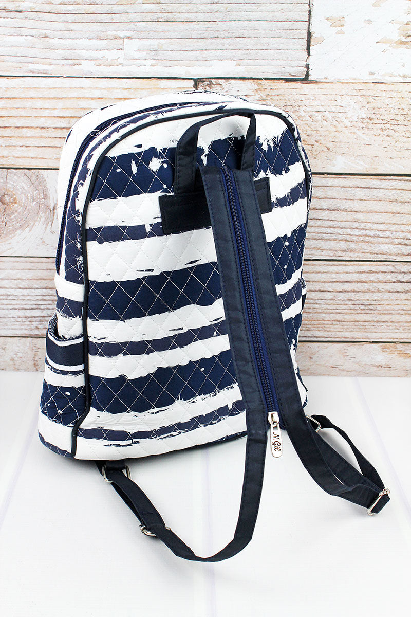 NGIL Ocean Breeze Quilted Backpack