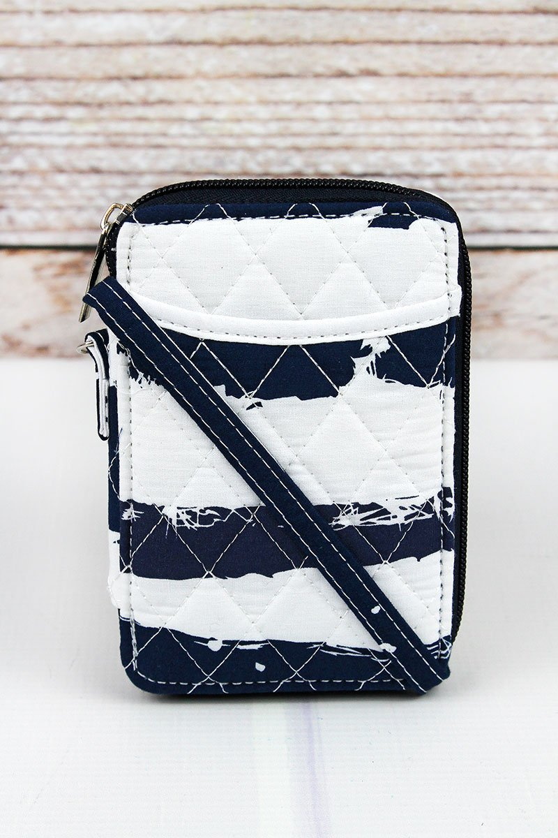 NGIL Ocean Breeze Quilted Wristlet