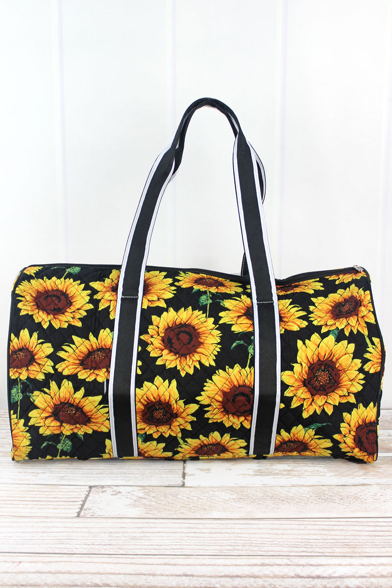 NGIL Sunflower Quilted Duffle Bag 21""