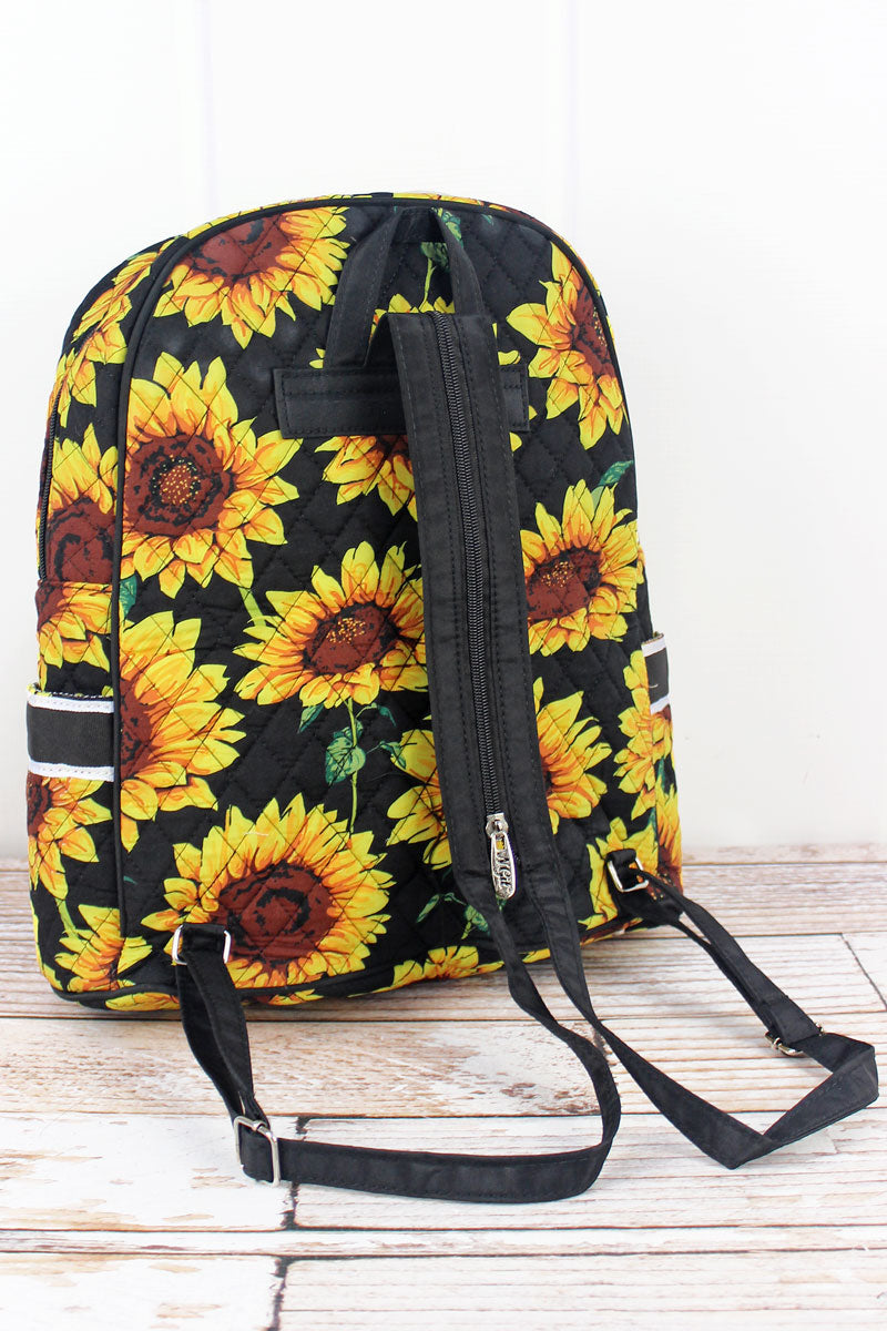 NGIL Sunflower Quilted Backpack