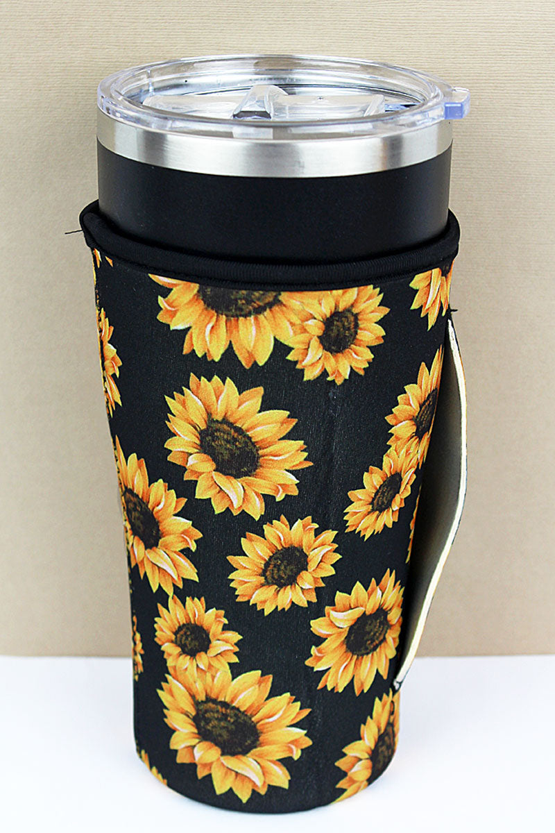 Sunflower Tumbler Drink Sleeve