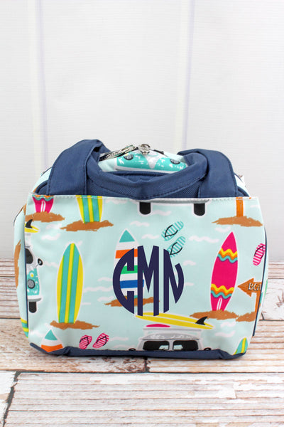 NGIL Surf's Up Insulated Bowler Style Lunch Bag