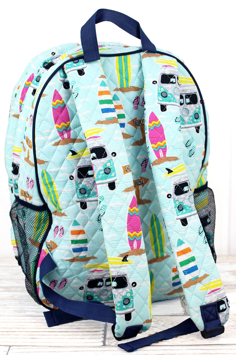 NGIL Surf's Up Quilted Oversized Backpack