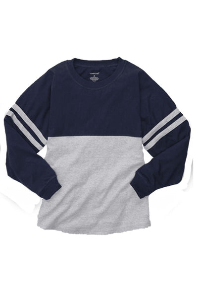 Boxercraft Navy and Oxford Pom Pom Jersey *Personalize It!