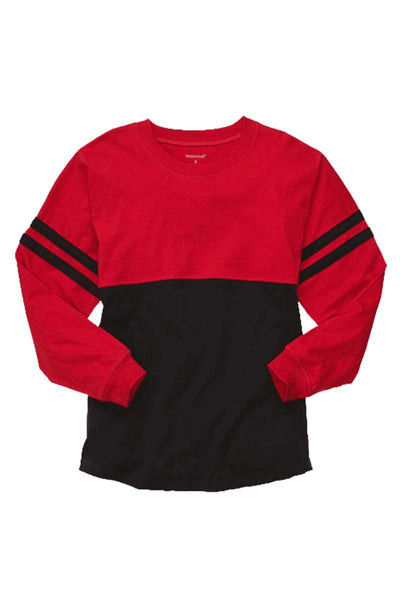 Boxercraft Red and Black Pom Pom Jersey *Personalize It!