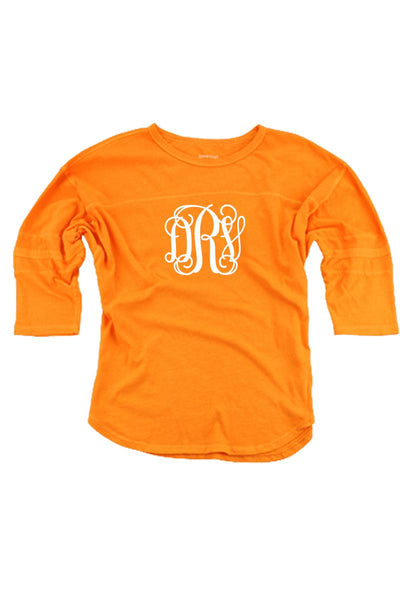Tennessee Orange Vintage Oversized Jersey #T19TO *Personalize It! (PLEASE ALLOW 3-5 BUSINESS DAYS. EXPEDITED SHIPPING N/A)