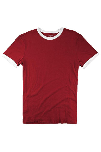 Boxercraft Red and White Short Sleeve Ringer Tee