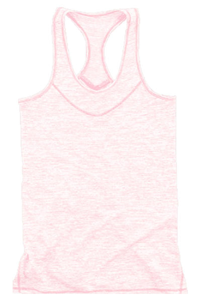 Boxercraft Pale Pink Tiger Slub Tank *Personalize It!
