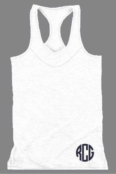 White Tiger Slub Tank #T81W *Personalize It! (PLEASE ALLOW 3-5 BUSINESS DAYS. EXPEDITED SHIPPING N/A)