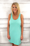 Boxercraft Navy Tank Dress/Cover Up *Personalize It