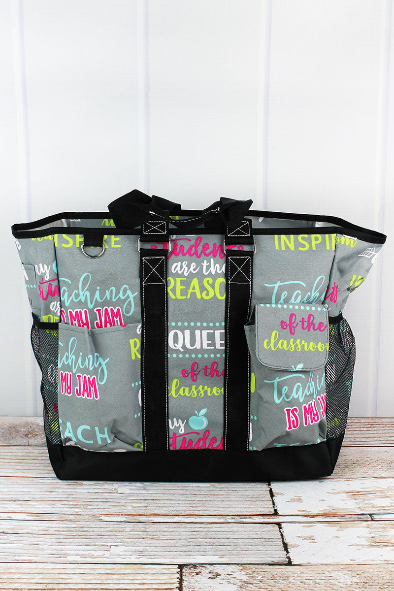 NGIL Teacher Life Everyday Organizer Tote