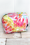 NGIL Watercolor Splash Cosmetic Case