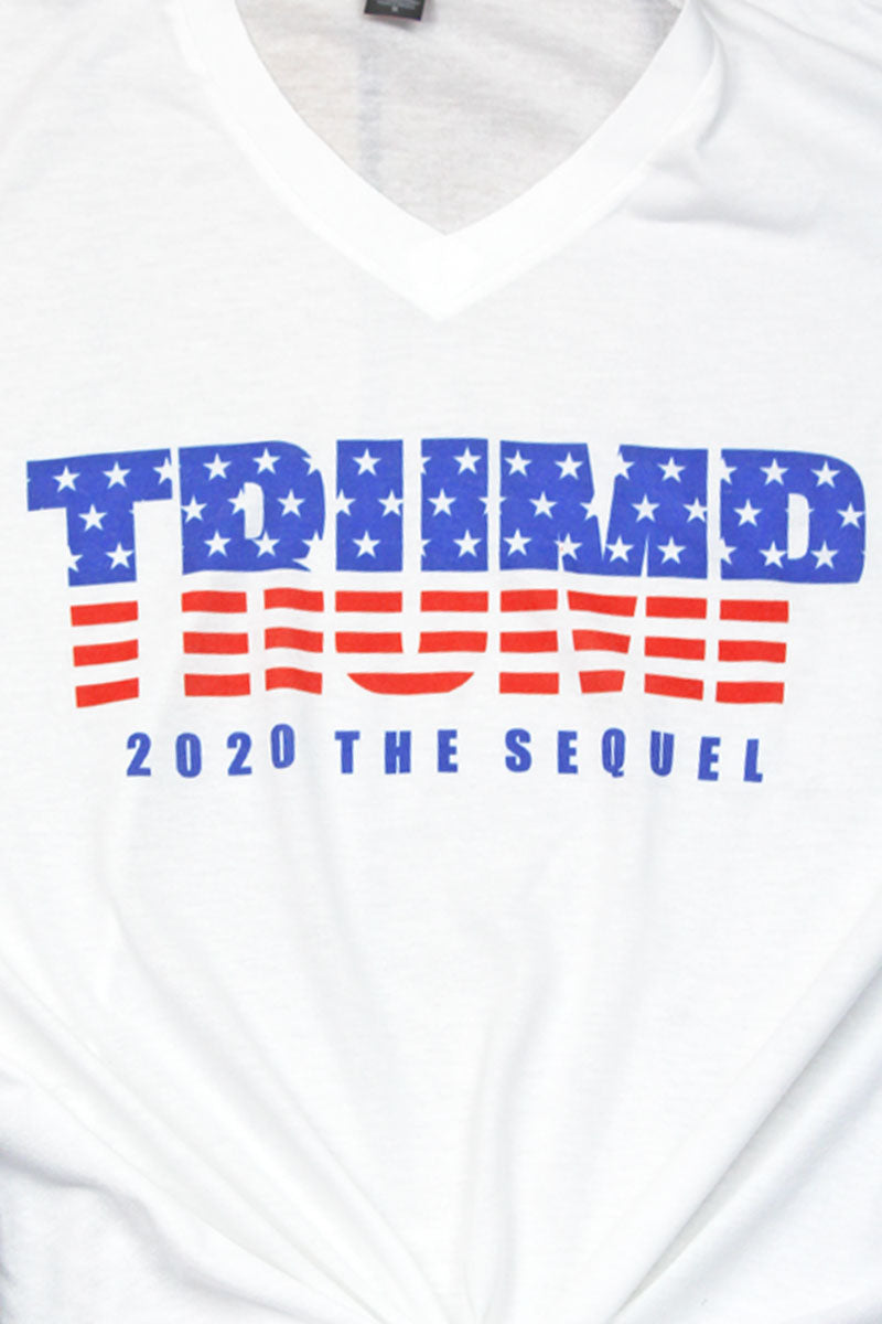 Trump The Sequel Unisex Poly-Rich Blend V-Neck Tee