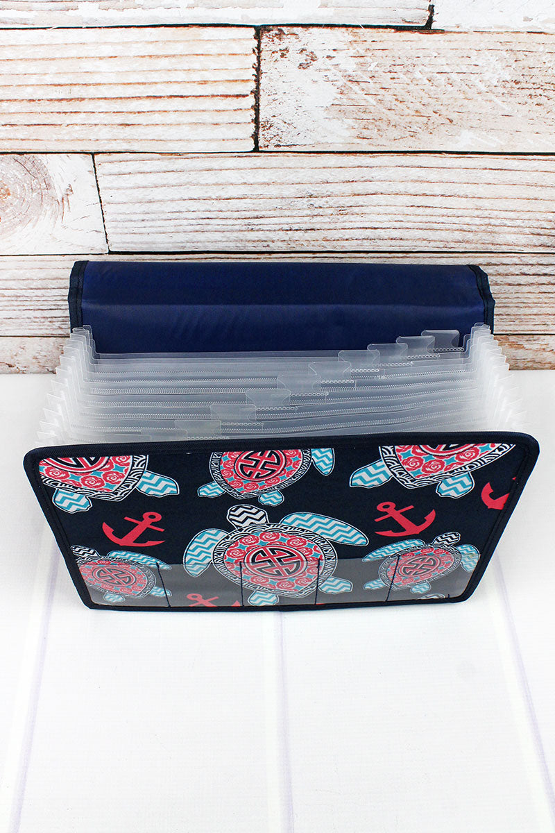 NGIL Preppy Under The Sea Expanding File Organizer