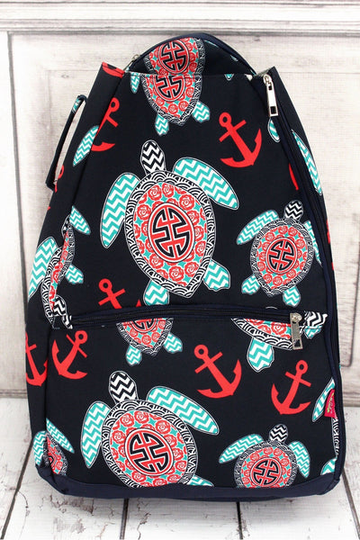 NGIL Preppy Under the Sea Tennis Backpack