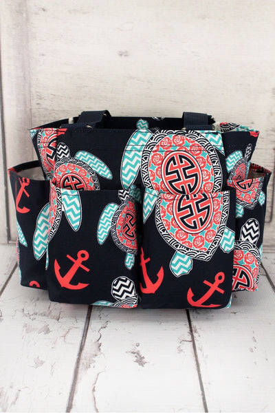 NGIL Preppy Under the Sea Organizer Tote
