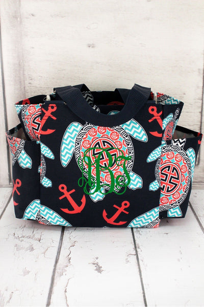 Preppy Under the Sea Organizer Tote #TUL903-NAVY